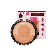 ETUDE HOUSE Snowy Dessert Makeup Box [Grapefruit] -Limited- via Polyvore featuring beauty products and makeup
