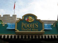 Pooh thotful spot