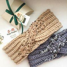 Exceptional Stitches Make a Crochet Hat Ideas. Extraordinary Stitches Make a Crochet Hat Ideas. Bandeau Crochet, Crochet Headband Pattern, Knitted Headband, Knitted Hats, Easy Crochet, Crochet Baby, Knit Crochet, Knitting Patterns, Crochet Patterns