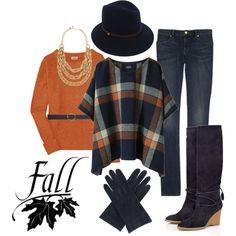 """""""Fall"""" by itztru on Polyvore - Late Fall Auburn Gameday outfit"""