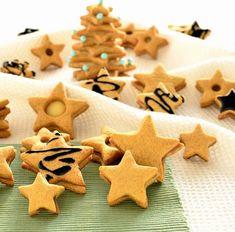 Miodowe gwiazdeczki Gingerbread Cookies, Cooking, Christmas, Food, Recipes, Cookies, Kitchens, Gingerbread Cupcakes, Yule
