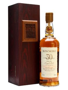 Bowmore 1963 / 30 Year Old / 30th Anniversary Scotch Whisky : The Whisky Exchange