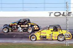 #ToledoTuesday #POTD220 | Eric Gordon 2 | Shane Hollingsworth 20 | 2011.10.15 | Toledo Speedway
