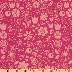 Sunny Happy Skies Floral Pink