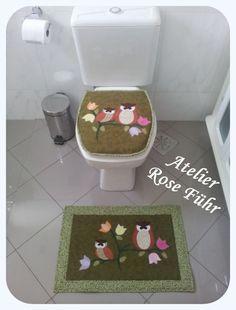 Jogo de banheiro Corujinhas