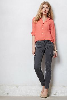 J Brand Grayson Skinny Cargo Pants. kinda thinking of adding skinny cargos to my 'be on the look out for' list