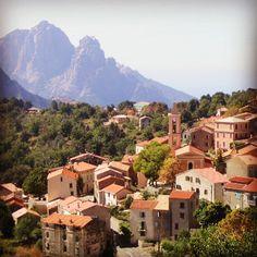 Corsica. Evisa.