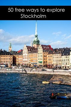 Lola A. Åkerström has compiled a resource of 50 free things to do in Stockholm - from museums and tours to concerts and other activities.