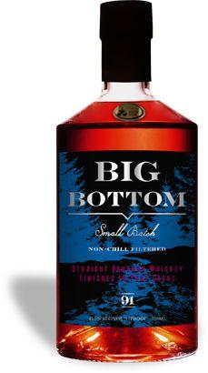 Big Bottom Whiskey: American Straight Bourbon Whiskey Finished in Port Casks Cocktail Drinks, Alcoholic Drinks, Beverages, Bourbon Whiskey, Whiskey Trail, Whisky Jack, Best Bourbons, Good Whiskey, Beer Cooler