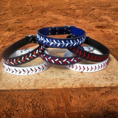 These are the cutest baseball dog collars!! Any baseball fan should get this for their furry friend! www.baseballdogcollars.com