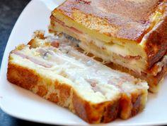 Connaissez-vous le croque-cake ? C'est la nouvelle coqueluche des blogueurs et des accros à Pinterest. Mais contrairement aux dernières tendances gourmandes,... Sandwich Cake, Sandwiches, French Cake, Catering Food, Tasty Kitchen, Food Porn, Food And Drink, Favorite Recipes, Snacks
