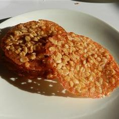 Butterscotch Lace Cookies - Allrecipes.com