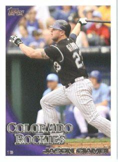 2010 Topps Update #71 Jason Giambi - Colorado Rockies (Baseball Cards) by Topps Update. $0.88. 2010 Topps Update #71 Jason Giambi - Colorado Rockies (Baseball Cards)
