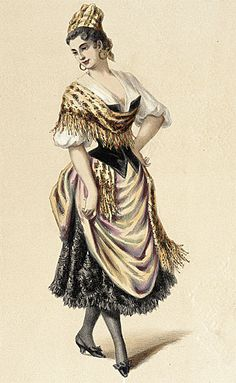 19th Century costume plate (Creole) - LACMA Collections Online at http://collectionsonline.lacma.org/mwebcgi/mweb.exe?request=record;id=50463;type=101