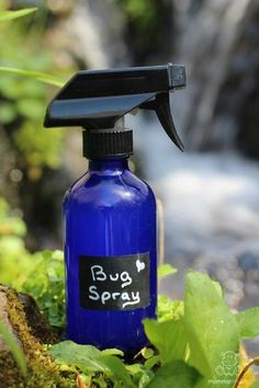 This homemade bug spray is safe for kid and pregnant/nursing mamas. It uses essential oils and other ingredients that probably already have on hand.