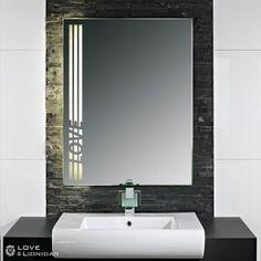 Awesome  Badspiegel mit Beleuchtung Love