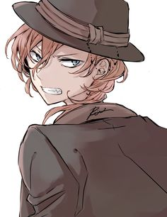 Boys Anime, Hot Anime Guys, Anime Manga, Anime Art, Bungou Stray Dogs Chuya, Stray Dogs Anime, Tsundere, Chibi, Maou Sama