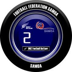 DNZ Football Buttons: Seleção de Samoa