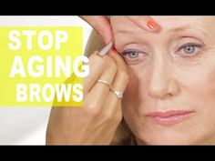Eyerbrow Tricks That Take Years Off Your Face  | Anti-Aging Eyebrow Tutorial