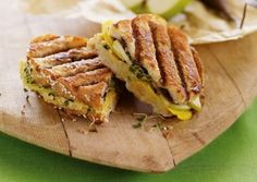 Chickpea, Beet, and Apple Panini from @Vegetarian Times