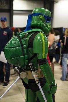 Teenage Mutant Trooper Turtle