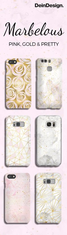 Fall in Love with our Marbelous Phone Cases <3 / Handyhüllen / Apple iPhone, Samsung Galaxy, Nokia, HTC, Huawai...