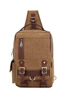 a97f14a70d KAUKKO Mens Multifunction Outdoor Sport Chest Bag Shoulder Bag Crossbody bag  sold out