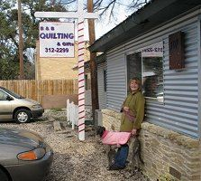 Shop Information - B Quilting and Gifts - Buda, Texas