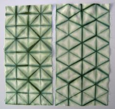 To start this serie, I want to show you two ways to fold a grid pattern.  The first one  (right) is known as the 'flagfold' I think, and the...