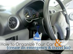 How to Organize your Car - Ask Anna
