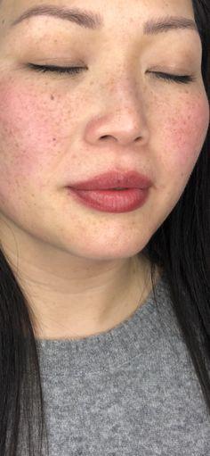 Lip Blush — Laurel Lip Color Tattoo, Lip Permanent Makeup, Tattoo Process, Cosmetic Tattoo, Makeup Tattoos, Dark Lips, Lip Fillers, Lip Tint, Natural Brown