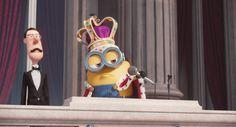 Drop The Mic #minion #minionmovie