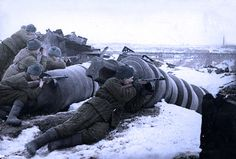 Soviet soldiers - Red October factory - Stalingrad battle | Flickr - Photo Sharing!