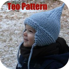 Very cute hat,bulky yarn should be a quick knit!
