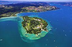 Lake Constance with Mainau Island, Monastic Island of Reichenau (UNESCO World Heritage), Lindau, prehistoric pile dwellings, Meersburg Castle | Tourism in Germany – travel, breaks, holidays
