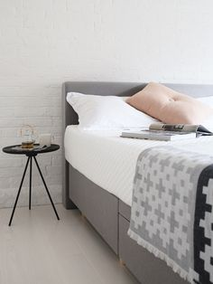Hochwertig This Studio By Silentnight Bed Is Looking Simply Stylish From Design  Hunter, With Muted Grey