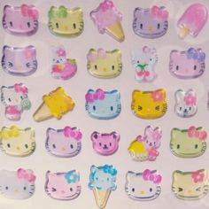 Shared by kawaii kanye west. Find images and videos about grunge, kawaii and pastel on We Heart It - the app to get lost in what you love. Aesthetic Grunge, Pink Aesthetic, Sanrio, Dibujos Anime Chibi, Cat Stickers, My Melody, Copics, Wall Collage, Childhood
