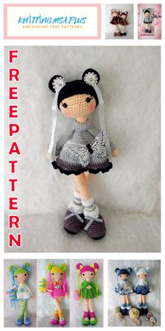 We share the latest free patterns with Amigurumi with you. In this article, amigurumi doll jack free crochet pattern is waiting for you. Easy Knitting Projects, Easy Knitting Patterns, Crochet Patterns Amigurumi, Amigurumi Doll, Crochet Dolls, Knitting Needle Conversion Chart, Knitted Teddy Bear, Hand Knitted Sweaters, Little Doll