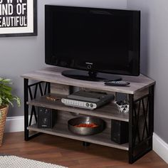 Simple Living Seneca Corner TV Stand