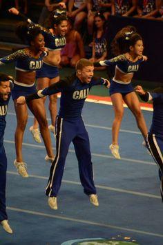 The Cheerleading Worlds 2014 - The California All Stars (CA) Cali Smoed - 2014 Small Coed World Champions - Robert Scianna