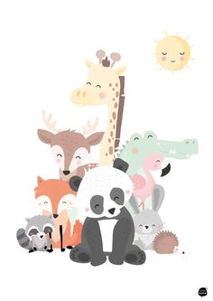 Animals Family A4
