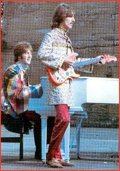 "George & John, 'I Am The Walrus"""
