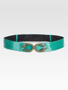 Raina - Patent Leather Belt