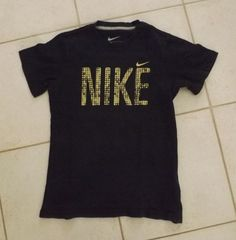 TEE SHIRT NIKE MANCHES COURTES TAILLE 8 10 ANS #TSHIRT