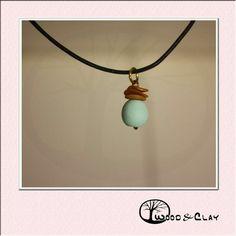 Pearl necklace  woodandclay.de