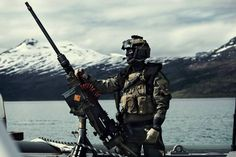 Norwegian maritime special forces soldier