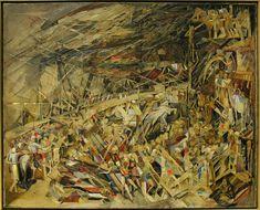 Vieira da Silva - Le desastre ou la guerre
