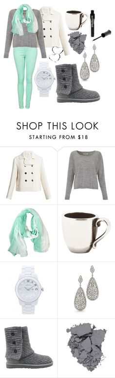 """""""cold winter day"""" by madisonsac ❤ liked on Polyvore featuring Marc Jacobs, Whyred, VILA, Trollbeads, Marc by Marc Jacobs, UGG Australia and Revlon"""