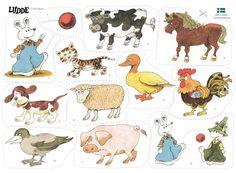 Ludde och alla djuren Montessori Materials, Konmari, Paper Dolls, Storytelling, Preschool, Education, Comics, Pets, Animals