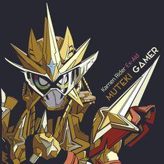Kamen Rider Ex-Aid Muteki Gamer by TMRYST